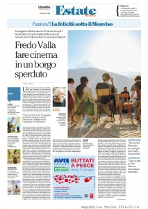 Fredo Valla fare cinema in un borgo sperduto